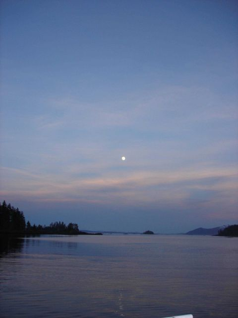 Moonrise. Picture