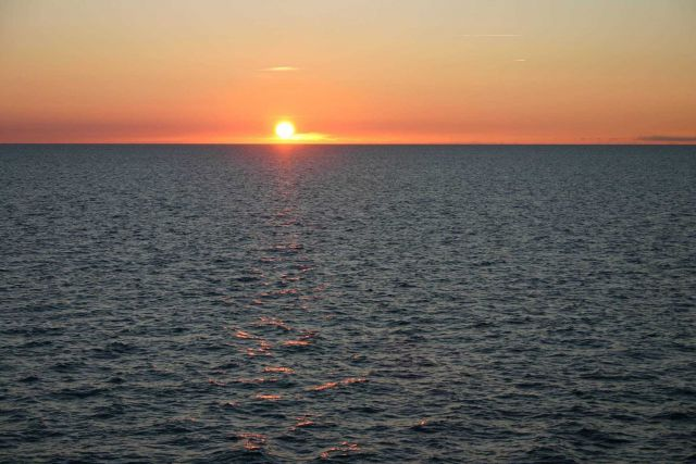 Sunset off Nantucket Picture
