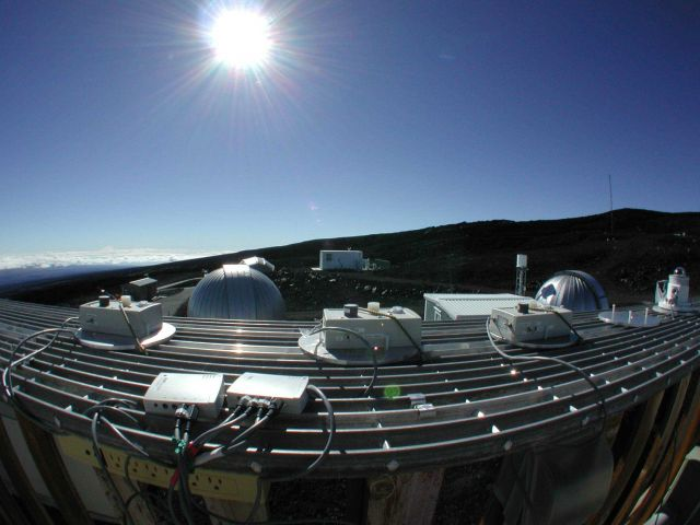Ultraviolet Instruments at the Mauna Loa Observatory Picture