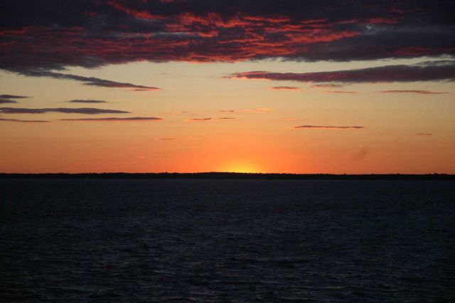 Sunset over Long Island Sound Picture