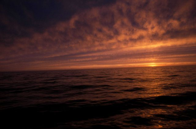 A Bering Sea sunset Picture
