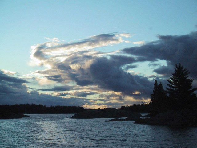 Sunrise over Lake Huron Picture
