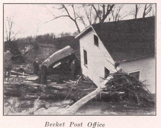 Becket post office Picture