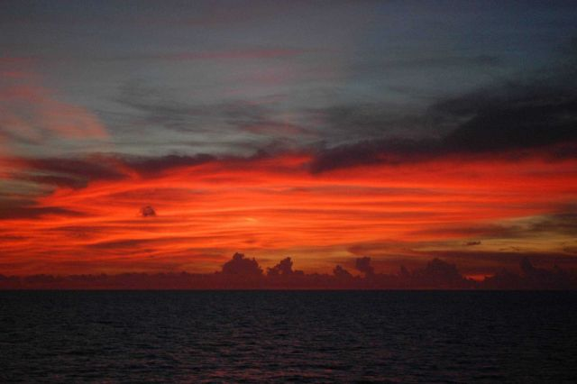 Sunset in the Gulf of Mexico Picture