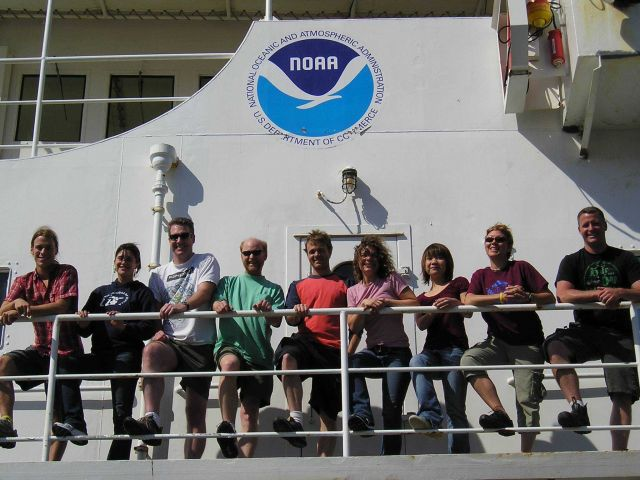 The Northwest Fisheries Science Center Marine Biotoxin program and University of Washington scientists together with UCAR SOARS and Hollings Summer In Picture