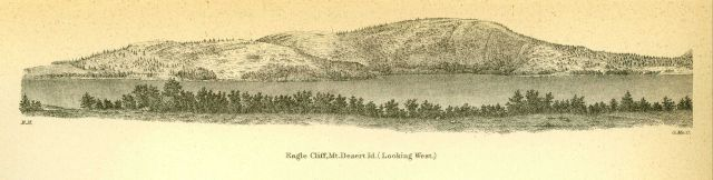Coastal view of Eagle Cliff, Mt Picture