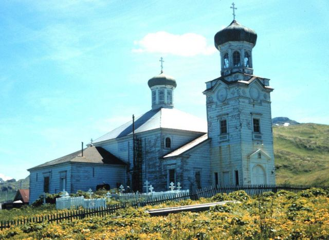 The Russian Orthodox Church at Unalaska Picture