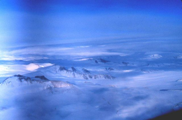 The Transantarctic Mountains. Picture