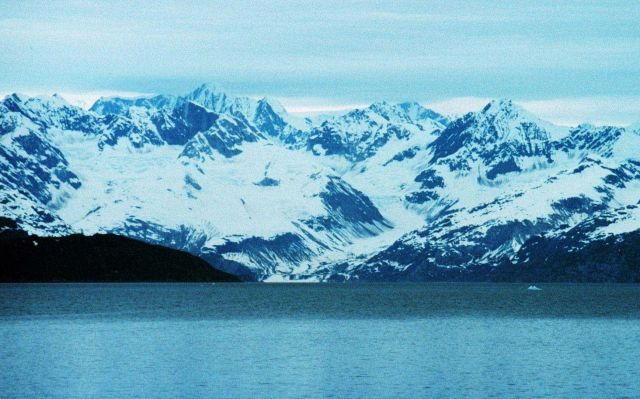Glacier Bay - note classic u-shaped glacier valley Picture