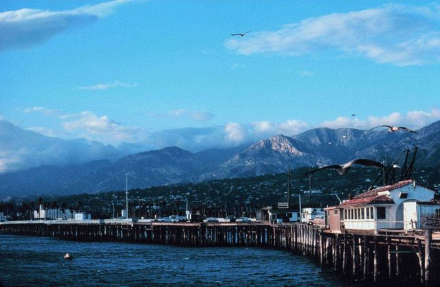 The pier at Santa Barbara Picture