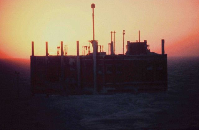The Clean Air Facility at sunrise Picture