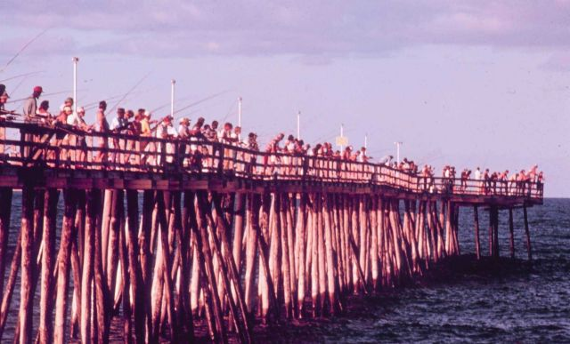 The fishing pier at Kitty Hawk Picture