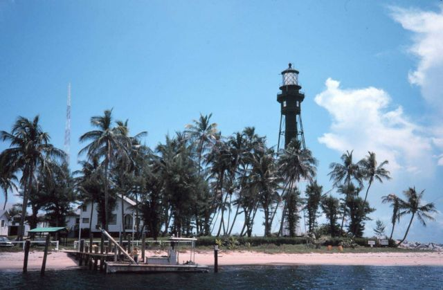 The Hillsboro Lighthouse at Pompano Beach Picture