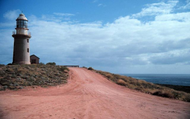 The lighthouse at Northwest Cape Picture