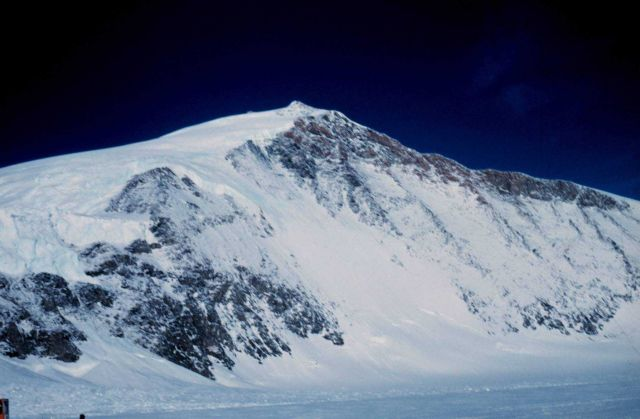 Mountain on the south side of Skelton Glacier McMurdo Station to South Pole traverse Picture
