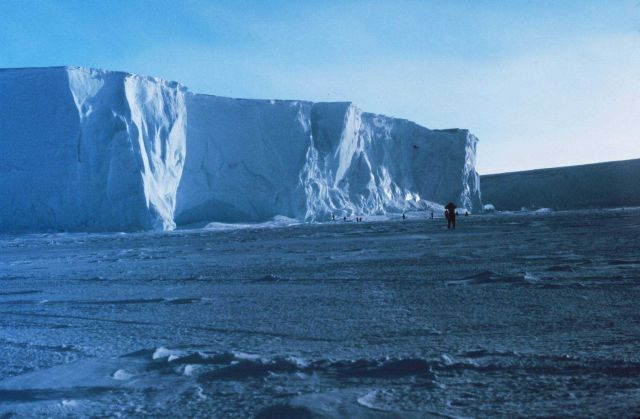 The Ross Ice Shelf at the Bay of Whales Picture