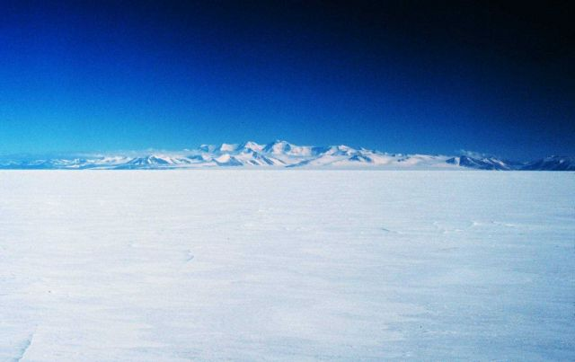 Royal Society Mountain Range in the Transantarctic Mountains across from McMurdo Sound on Ross Island Picture
