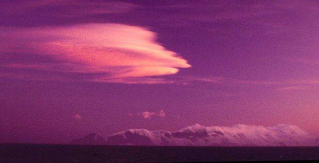 Purple sunset Picture