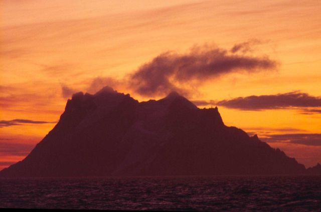 Elephant Island at Sunset Picture