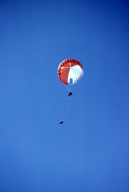 Smokejumper with equipment Picture