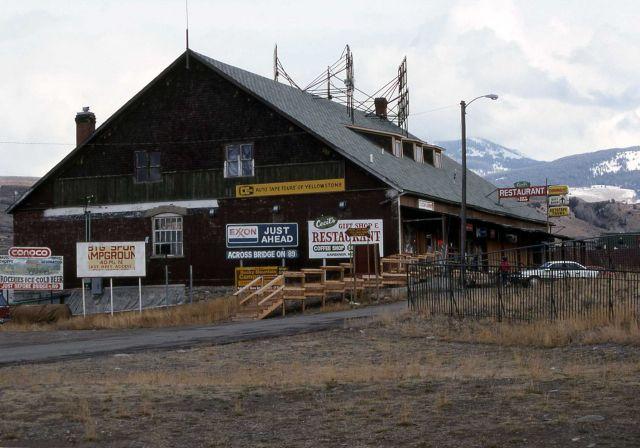 Cecil's Fine Foods restaurant in Gardiner, Montana (building designed by Robert Reamer) Picture