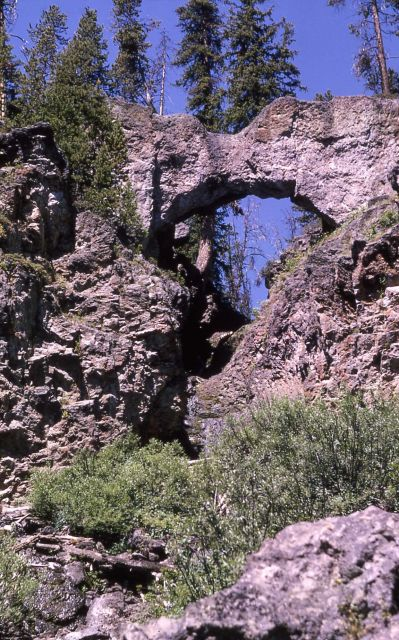 Natural Bridge - Geology Picture