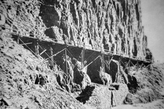 Original Golden Gate bridge (Kingman's trestle) Picture