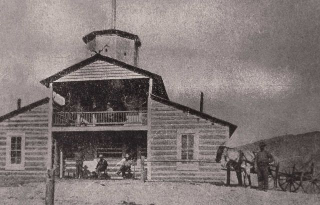 Norris blockhouse, unknown men Picture
