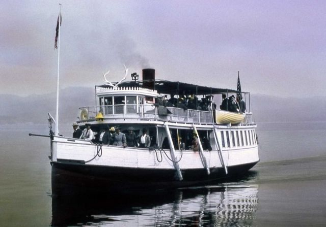 Steamboat Zillah on Yellowstone Lake Picture