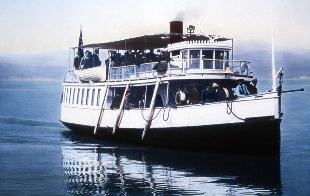 Steamboat Zellah, Yellowstone Lake Picture