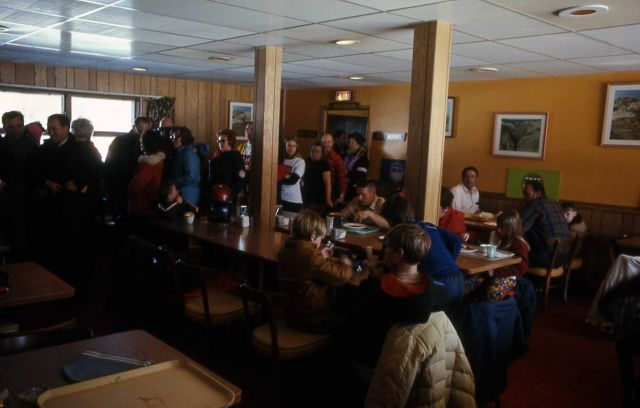 Old Faithful Snow Lodge dining room interior Picture