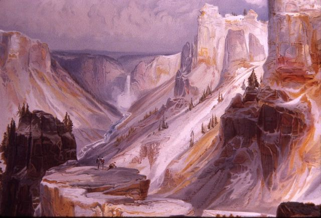 Grand Canyon of the Yellowstone painting - YELL 3083 Picture