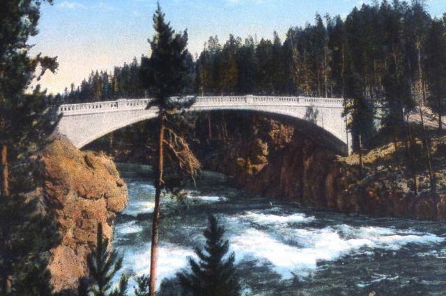 Postcard of Chittenden Bridge Picture