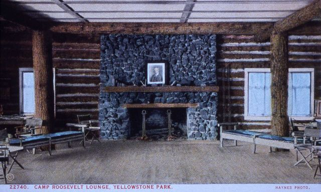 Postcard 22740 - Camp Roosevelt Lounge Picture