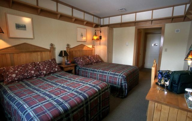 Interior of a room at Old Faithful Snow Lodge Picture