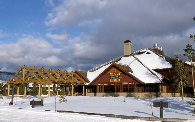 Old Faithful Snow Lodge Picture