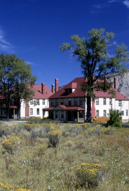 Two houses on Officers' Row at Fort Yellowstone Picture