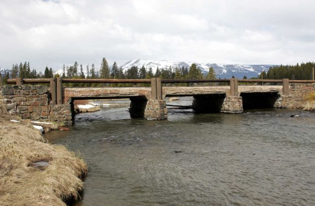 Sevenmile Bridge over the Gardner River at Indian Creek Picture