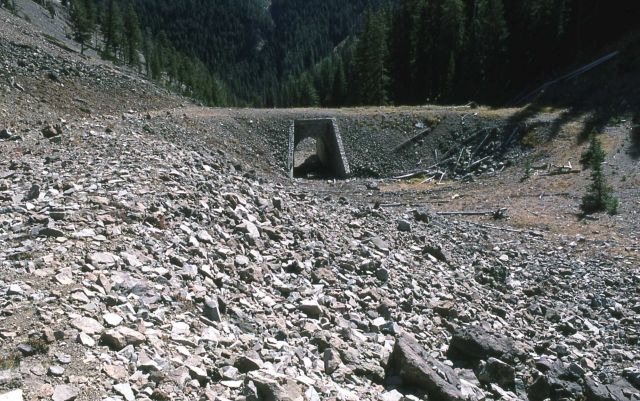 Cork Screw Bridge east of Sylvan Pass Picture