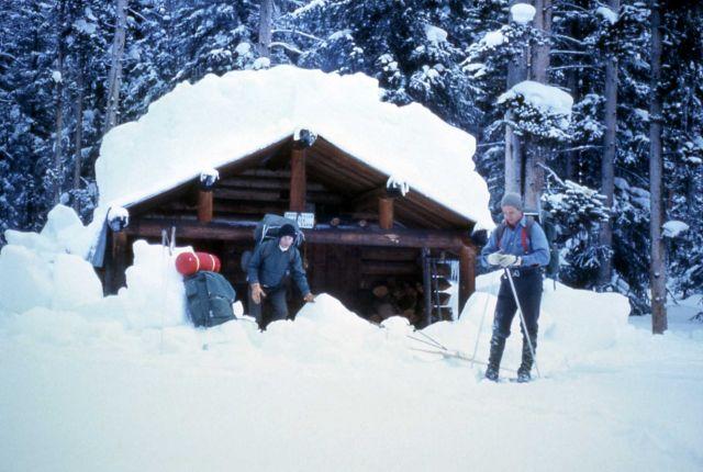 Upper Mill Creek patrol cabin Picture