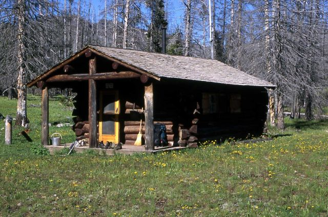 Cache Creek patrol cabin Picture