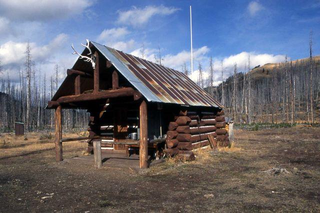 Calfee Creek patrol cabin Picture