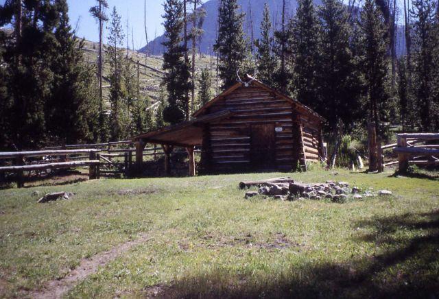 Barn at Thorofare patrol cabin Picture