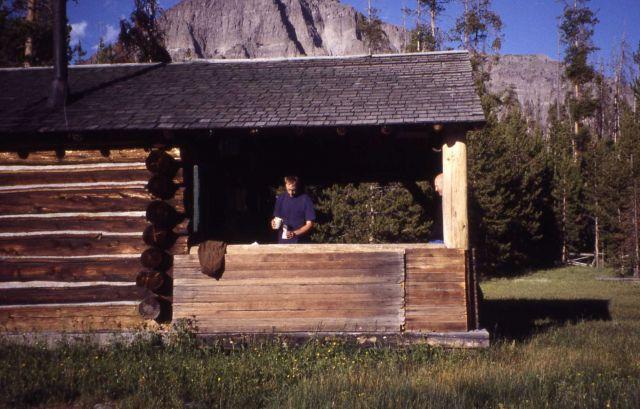 Thorofare patrol cabin, Brad Ross Picture