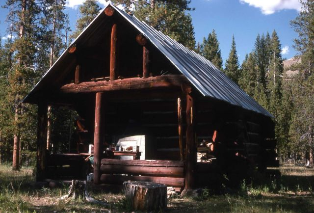 Calfee Creek patrol cabin Picture