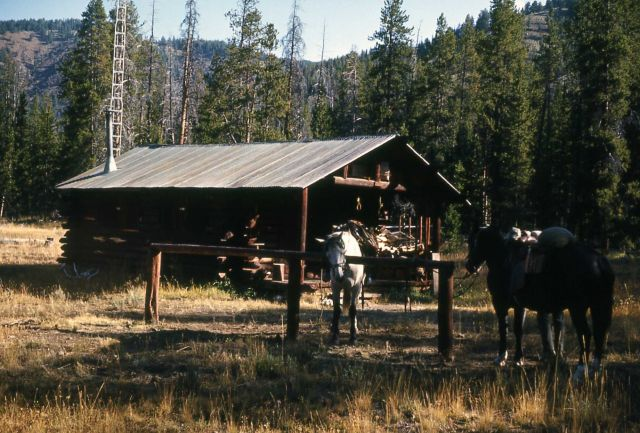 Cold Creek patrol cabin Picture