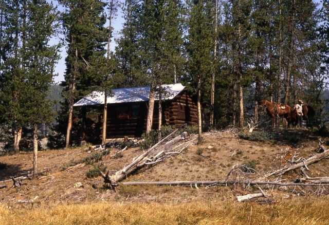 Cougar Creek patrol cabin Picture