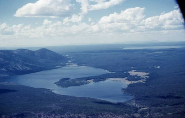 Aerial of Heart Lake Picture