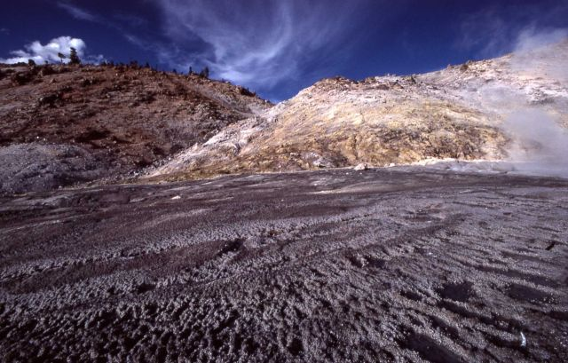 Sulfur Mountain - Mud Volcano area Picture
