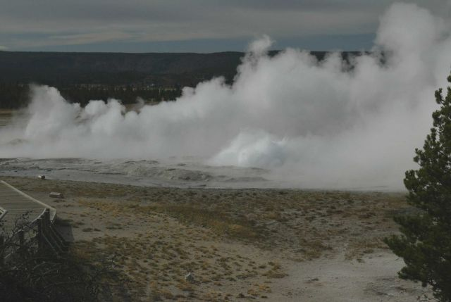 Clepsydra & Fountain Geysers - Midway & Lower Geyser Basin Picture